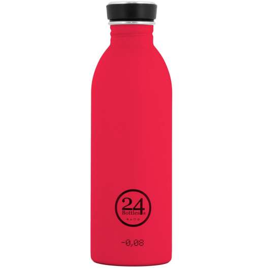 24 Bottles - Urban Bottle 0,5 L - Hot Red (24B29)