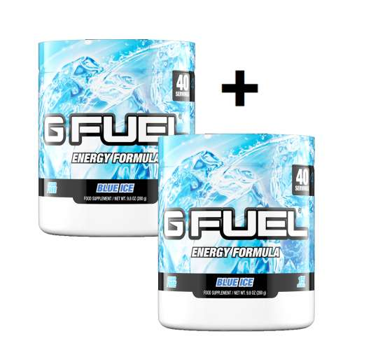 2x ​G Fuel Blue Ice Dose
