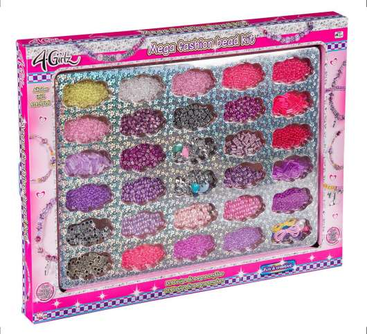 4-Girlz Mega Bead set (63139)