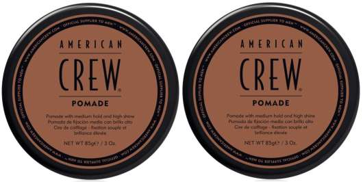 American Crew - 2x Pomade 85 gr.