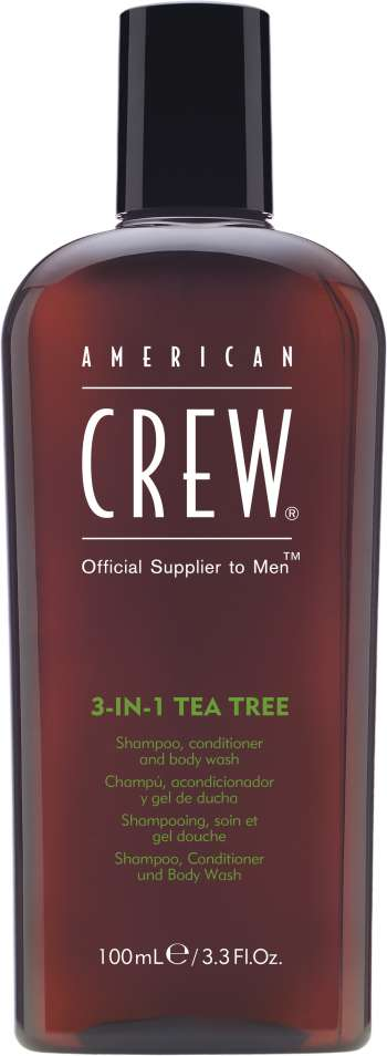 American Crew - Hair&Body 3-in-1 Tea Tree Shampoo 450 ml