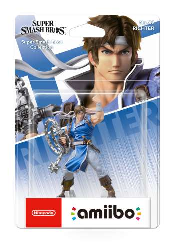 Amiibo Richter Belmont (Super Smash Bros. Collection)