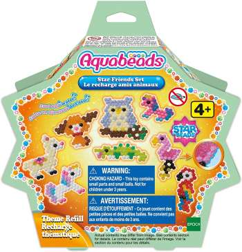 Aquabeads - Star Friends Set Theme Refill (31602)