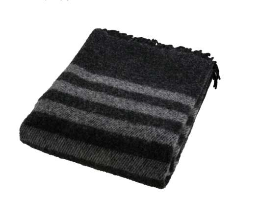 ARCTIC - Wool Blanket - Black 130x200 cm  (59R101)