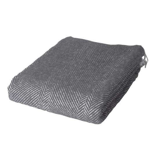 ARCTIC - Wool Blanket - Dark Grey 130x200 cm (59S3032)