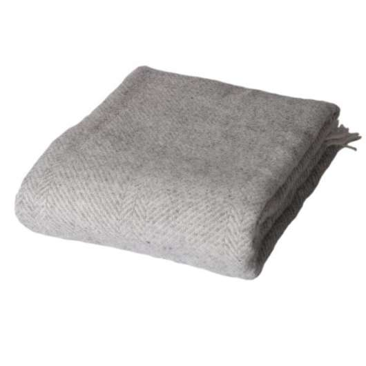 ARCTIC - Wool Blanket - Light Grey 130x200 cm (59S3033)