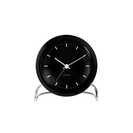 Arne Jacobsen - City Hall Table Clock - Black (43673)