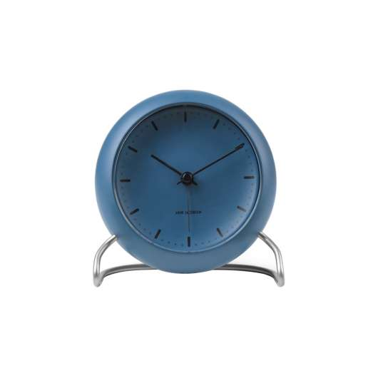 Arne Jacobsen - City Hall Table Clock - Blue (43691)
