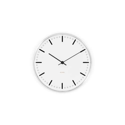 Arne Jacobsen - City Hall Wall Clock 21 cm - White (43631)