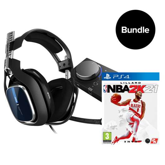 ASTRO A40 TR + MA PRO TR & NBA 2K2021 PS4 - Bundle