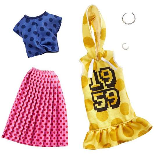 Barbie - Fashions: 2-Packs - Polka Dots (GHX60)