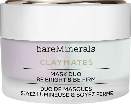 bareMinerals - Claymates Mask Duo Be Bright & Be Firm 58 g
