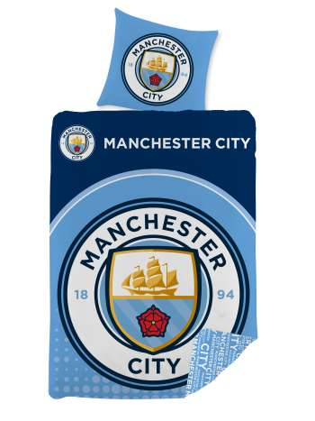 Bed Linen - Adult Size 140 x 200 cm -  Manchester City (1000273)