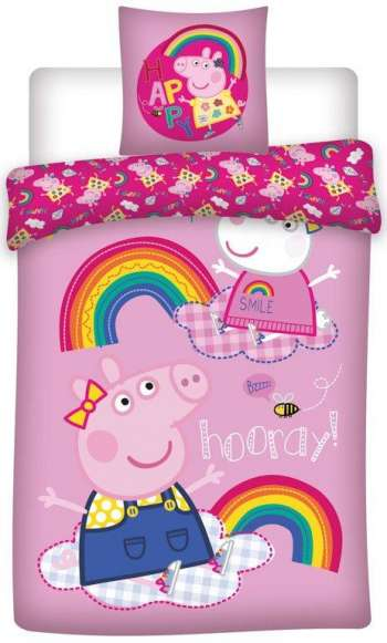 Bed Linen - Adult Size 140 x 200 cm - Peppa Pig (1000104)
