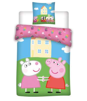 Bed Linen - Adult Size 140 x 200 cm - Peppa Pig (1000297)