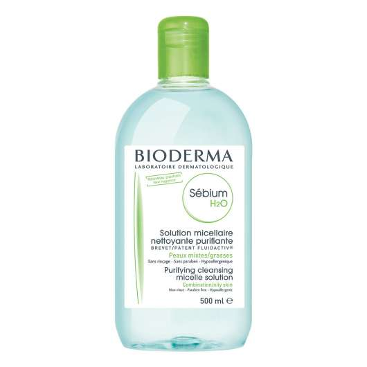 Bioderma - Sebium H2O Purifying Cleansing Micellar Solution 500ml