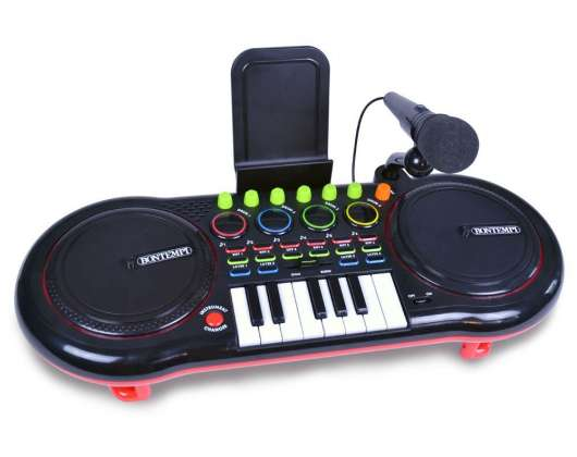 Bontempi - DJ-mixer with microphone and keyboard (181000)