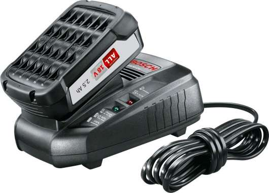 Bosch - Battery Starter Set 18 V (2,5 Ah + AL 1830 CV)