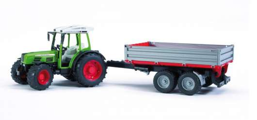 Bruder - Fendt 209S Tractor with Tipping Trailer (2104)