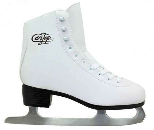 Cantop - Ice Skate -  White (Size: 34)