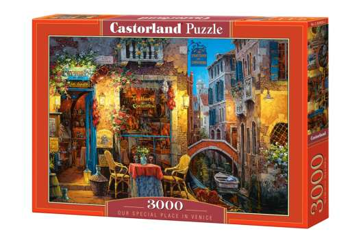 Castorland - Puzzle 3000 Pieces - Our Special place in venice (C-300426)